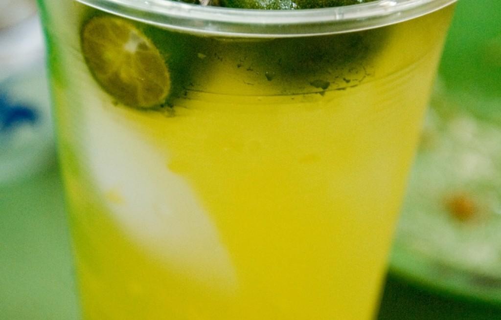 Napój pomarańczowo-limonkowy