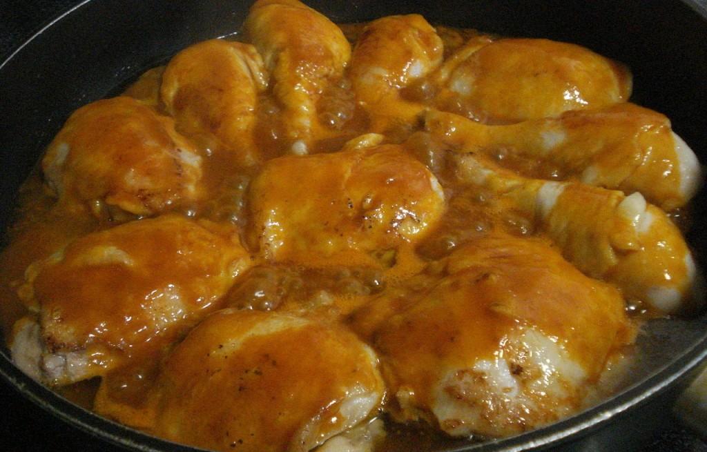 Kurczak w sosie musztardowym