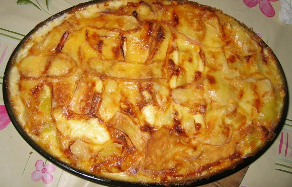 Tartiflette - zapiekanka z ziemniaków