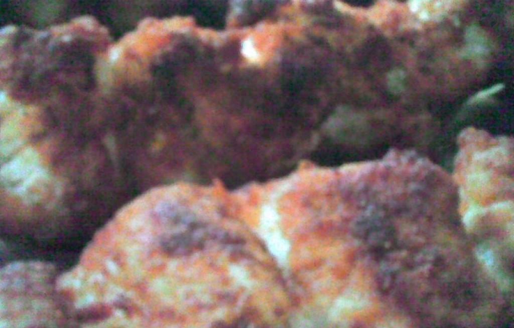 Szaszłyk mięsny z pikantnym sosem